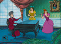 "Animation Art:Limited Edition Cel, Cinderella ""The Music Lesson"" Lady Tremaine, Anastasia, andDrizella Limited Edition Cel #42/500 (Walt Disney, 1987)....(Total: 2 Items)"