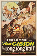 "Movie Posters:Western, The Long, Long Trail (Universal, 1929). One Sheet (27.25"" X 41"")....."