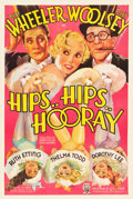"Movie Posters:Comedy, Hips, Hips, Hooray (RKO, 1934). One Sheet (27.25"" X 40.75"").. ..."