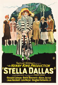 "Movie Posters:Drama, Stella Dallas (Samuel Goldwyn, 1925). One Sheet (28.25"" X 41"")....."