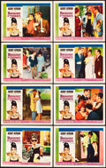 "Movie Posters:Romance, Breakfast at Tiffany's (Paramount, 1961). Lobby Card Set of 8 (11"" X 14"").. ... (Total: 8 Items)"