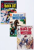 Golden Age (1938-1955):Horror, Black Cat Comics/Black Cat Mystery Group of 6 (Harvey, 1950-63)Condition: Average VG/FN.... (Total: 6 Comic Books)
