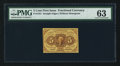 Fractional Currency:First Issue, Fr. 1231 5¢ First Issue PMG Choice Uncirculated 63.. ...