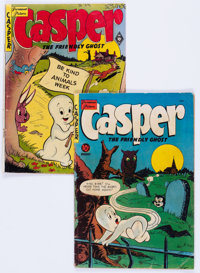 Casper the Friendly Ghost #3 and 5 Group (St. John, 1950-51) Condition: Average GD.... (Total: 2 Comic Books)