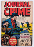 Golden Age (1938-1955):Crime, Fox Giants: Journal of Crime (Fox Features Syndicate, 1949) Condition: VG-....
