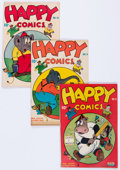 Golden Age (1938-1955):Funny Animal, Happy Comics Group of 7 (Standard, 1945-48) Condition: AverageFN.... (Total: 7 Comic Books)