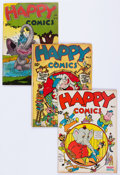 Golden Age (1938-1955):Funny Animal, Happy Comics Group of 13 (Standard, 1943-49) Condition: AverageVG.... (Total: 13 Comic Books)