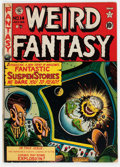 Golden Age (1938-1955):Science Fiction, Weird Fantasy #14 (#2) (EC, 1950) Condition: VG+....