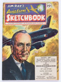 Golden Age (1938-1955):Non-Fiction, Jim Ray's Aviation Sketchbook #1 (Vital Publications, 1946)Condition: VF....