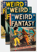 Golden Age (1938-1955):Science Fiction, Weird Fantasy Group of 5 (EC, 1951-53) Condition: Average VG/FN....(Total: 5 Comic Books)