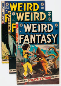 Weird Fantasy Group of 5 (EC, 1951-53) Condition: Average VG/FN.... (Total: 5 Comic Books)