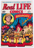 Golden Age (1938-1955):Non-Fiction, Real Life Comics #21 (Nedor Publications, 1945) Condition: VF-....