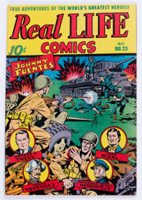 Real Life Comics #23 (Nedor Publications, 1945) Condition: VF/NM