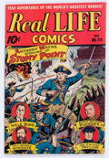 Golden Age (1938-1955):Non-Fiction, Real Life Comics #29 (Nedor Publications, 1946) Condition: VF....