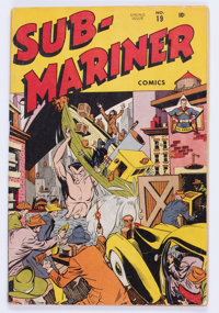 Sub-Mariner Comics #19 (Timely, 1946) Condition: GD/VG
