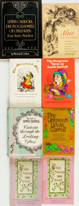 Books:Literature 1900-up, [Lewis Carroll]. Group of Eight Books by or about Lewis Carroll.Various publishers, 1961 - 1979. . ... (Total: 8 Items)