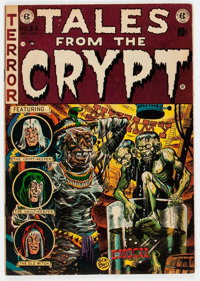 Tales From the Crypt #33 (EC, 1952) Condition: VG/FN