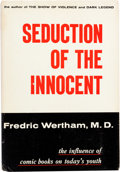Memorabilia:Miscellaneous, Seduction of the Innocent First Printing Hardcover Book (Reinhart and Co., 1954)....