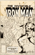 Original Comic Art:Covers, Bob Layton Iron Man #136 Cover Original Art (Marvel,1980)....