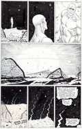 Original Comic Art:Panel Pages, Dave Gibbons Watchmen #3 Page 21 Dr. Manhattan Original Art(DC, 1986)....