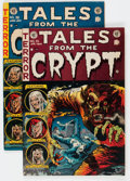 Golden Age (1938-1955):Horror, Tales From the Crypt #35 and 36 Group (EC, 1953) Condition: AverageFN-.... (Total: 2 Comic Books)