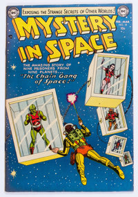 Mystery in Space #18 (DC, 1954) Condition: VF-