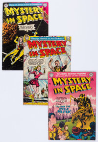 Mystery in Space Group of 7 (DC, 1952-55).... (Total: 7 Comic Books)