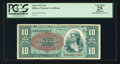 Military Payment Certificates:Series 591, Series 591 $10 PCGS Apparent Very Fine 25.. ...