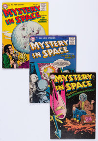 Mystery in Space Group of 12 (DC, 1955-58) Condition: Average VG.... (Total: 12 Comic Books)