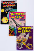 Silver Age (1956-1969):Science Fiction, Mystery in Space Group of 11 (DC, 1957-59) Condition: AverageVG.... (Total: 11 Comic Books)