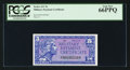 Military Payment Certificates:Series 611, Series 611 5c PCGS Gem New 66PPQ.. ...