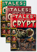 Golden Age (1938-1955):Horror, Tales From the Crypt #37 and 39-41 Group (EC, 1953-54) Condition:Average VG+.... (Total: 4 Comic Books)