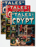 Golden Age (1938-1955):Horror, Tales From the Crypt Group of 4 (EC, 1951-53) Condition: AverageVG+.... (Total: 4 Comic Books)