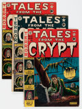 Golden Age (1938-1955):Horror, Tales From the Crypt #22-24 and 32 Group (EC, 1951-52) Condition:Average VG-.... (Total: 4 Comic Books)