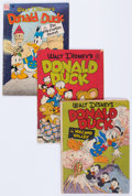 Golden Age (1938-1955):Cartoon Character, Four Color - Donald Duck Group of 15 (Dell, 1947-52) Condition: Average GD+ except as noted.... (Total: 15 Comic Books)