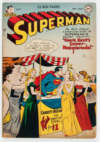 Superman #71 (DC, 1951) Condition: VG/FN