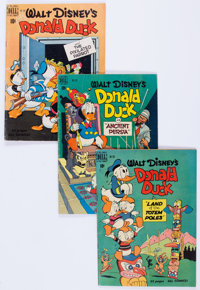 Four Color - Donald Duck Group 17 (Dell, 1950-52) Condition: Average GD+ except as noted.... (Total: 17 Comic Books)