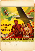 Books:Pulps, [Pulps]. Edgar Rice Burroughs. Earliest Publication of Carson ofVenus. Nearly complete serialization, collected...