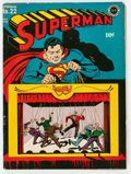 Golden Age (1938-1955):Superhero, Superman #22 (DC, 1943) Condition: VG....