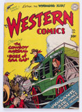Golden Age (1938-1955):Western, Western Comics #1 (DC, 1948) Condition: GD/VG....