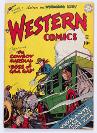 Western Comics #1 (DC, 1948) Condition: GD/VG
