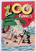 Golden Age (1938-1955):Funny Animal, Zoo Funnies #2 (Charlton, 1945) Condition: NM-....