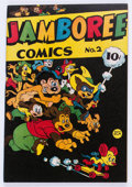 Golden Age (1938-1955):Funny Animal, Jamboree Comics #2 (Round, 1946) Condition: NM-....