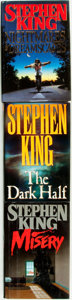 Books:Horror & Supernatural, Stephen King. Group of Three First Editions, One SIGNED by KathyBates. New York: Viking, 1987 - 1993. . ... (Total: 3 Items)