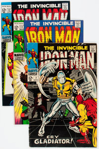 Iron Man and Iron Man and Sub-Mariner Group (Marvel, 1968-70) Condition: Average FN/VF.... (Total: 22 Comic Books)