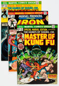 Bronze Age (1970-1979):Superhero, Master of Kung Fu and Iron Fist Group (Marvel, 1970s) Condition: Average FN/VF.... (Total: 20 Comic Books)