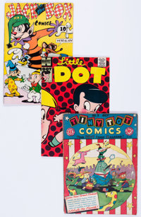 Comic Books - Assorted Golden and Silver Age Humor Comics Group of 13 (Various Publishers, 1940s-60s) Condition: Average...