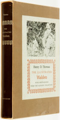 Books:Literature Pre-1900, Henry D. Thoreau. J. Lyndon Shanley, editor. The Illustrated Walden with Photographs from the Gleason Collection. Pr...
