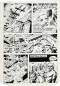 Original Comic Art:Panel Pages, Dick Ayers and Tony DeZuniga Mighty Crusaders #6 OriginalArt Group of 11 (Archie, 1984)... (Total: 11 Original Art)