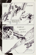 Original Comic Art:Panel Pages, Gil Kane The Vigilante #13 Page 19 Original Art (DC, 1983)....